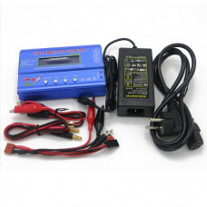 IMAX B6 80W 6A Charger-Discharger 1-6 Cells plus DC 5A 12V 60W ADAPTER AC - Clone Model