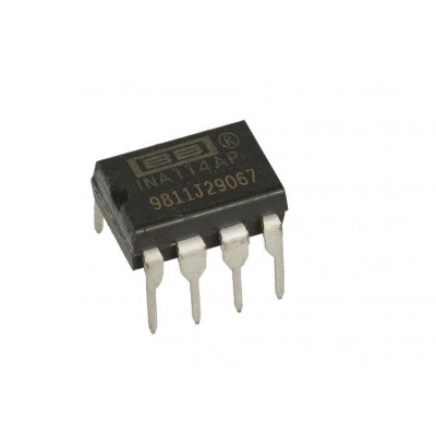 INA114 Precision Instrumentation Amplifier IC DIP-8 Package