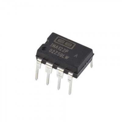INA122 Single Supply Instrumentation Amplifier IC DIP-8 Package