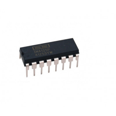INA125 Instrumentation Amplifier with Precision Voltage Reference IC DIP-16 Package