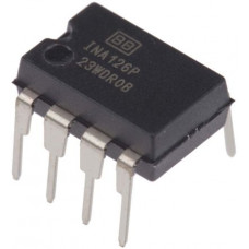 INA126 Micro Power Instrumentation Amplifier IC DIP-8 Package