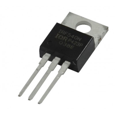 IRF540 MOSFET - 100V 33A N-Channel HEXFET Power MOSFET TO-220 Package