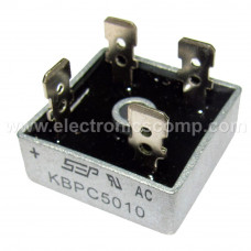KBPC5010 - 50A 1000V Bridge Rectifier