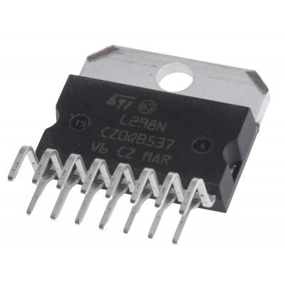L298N Dual Full Bridge Driver IC Multiwatt-15 Package