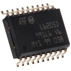 L6205 IC - (SMD Package) - DMOS Dual Full Bridge Driver IC