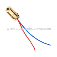 Laser Diode - Red - 650nm - 5V - 6mm - 50mW