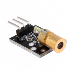 Laser Diode Module - 5mW 650nm 5V Red