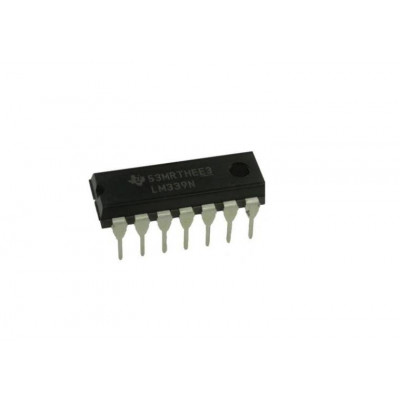 LM339 Low Power Low Offset Voltage Quad Comparator IC DIP-14 Package