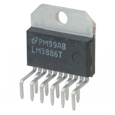 LM3886 68W High Performance Audio Power Amplifier IC TO-220-11 Package