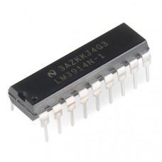 LM3914 Dot/Bar Display Driver IC DIP-18 Package