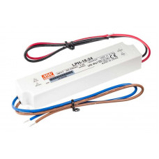 LPH-18-24 Mean Well SMPS - 24V 0.75A 18W Waterproof LED Power Supply