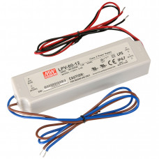 LPV-60-12 Mean Well SMPS - 12V 5A 60W Waterproof LED Power Supply