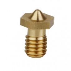 M6 Thread Brass Nozzle V5 V6 UM Compatible - 1.75mm x 0.3mm (for 3D printer)