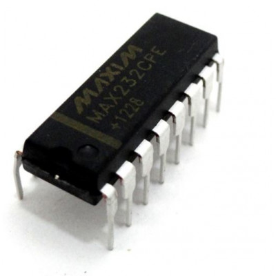 MAX232 Dual Driver/Receiver IC DIP-16 Package