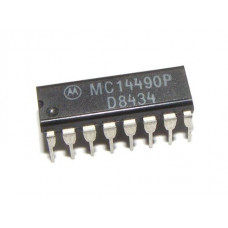 MC14490 Hex Contact Bounce Eliminator IC DIP-16 Package