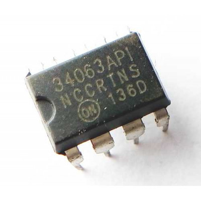 MC34063 DC TO DC Converter IC DIP-8 Package