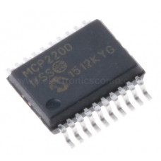 MCP2200 IC - (SMD SOIC-20 Package) - USB to UART Serial Converter IC