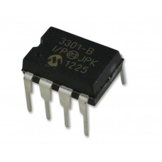 MCP3301 13-Bit Differential Input A/D Converter (ADC) with SPI Interface IC DIP-8 Package
