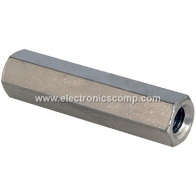 Metal Spacer - 50mm - Female to Female Spacer for PCB - 2 Pieces Pack