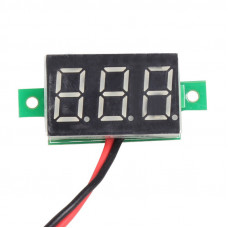 DIgital DC Voltmeter Mini 0.36 inch - 2 Wire Module - 4.5V to 30V