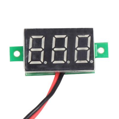 Digital DC Mini Voltmeter 0.36 inch - 2 Wire Module - 4.5V to 30V