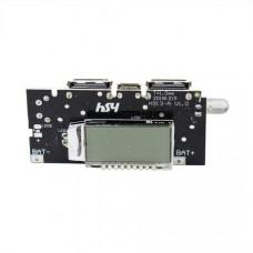 Mobile Power Boost DIY 18650 Lithium Battery Digital Dual USB