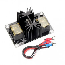 MOS25 12 to 50V 25A 3D printer Heat Bed Power Expansion Module with Cables