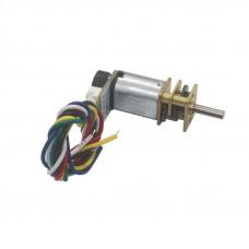 N20 12V 300 RPM Micro Metal Gear Motor With Encoder