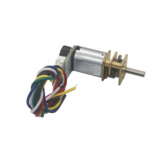 N20 6V 150 RPM Micro Metal Gear Motor With Encoder
