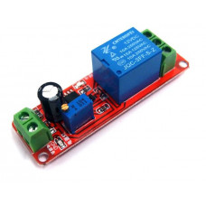 NE555 Delay Timer Switch Adjustable 0-10 Sec 12V Relay Module