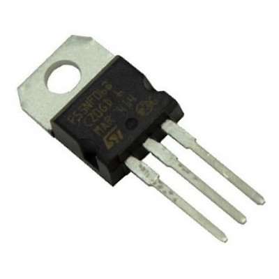 P55NF06 - 55NF06 (STP55NF06) MOSFET - 60V 50A N-Channel Power MOSFET TO-220 Package