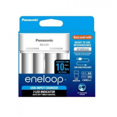 PANASONIC BQ - CC61N Eneloop Battery Charger with USB Cable