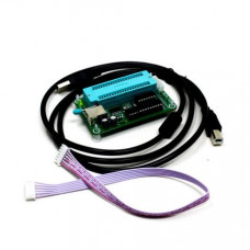PIC K150 USB Automatic Develop Microcontroller Programmer with ICSP Cable (Body width: 10 mm)