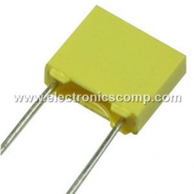 1nF (0.001uF -102) - 100V Polyester Box Capacitor