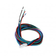 Pure Copper 1000 mm Cable with Connector for NEMA17 Stepper Motor