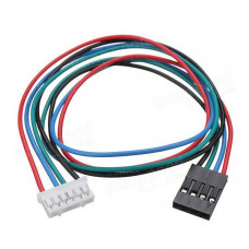 Pure Copper 720mm Cable with Connector for NEMA17 Stepper Motor