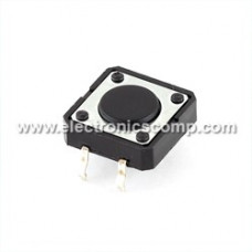 Push Button Switch - 12mm - 4 pin - Tactile/Micro Switch