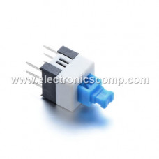 Push Switch -Self Locking Action - 6 Pin