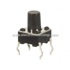 Push Button Switch - 12mm - 4 pin - Tactile/Micro Switch - 10mm Height