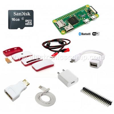 Raspberry Pi Zero W (Wireless) Starter Kit