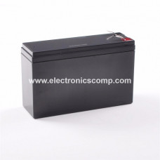 12V 7.5Ah Rechargeable Sealed Lead Acid Battery