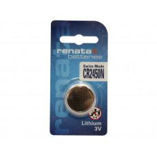 Renata CR2450N 3V 540mAh Lithium Coin Cell Battery
