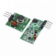 315MHz RF Transmitter Receiver Module Wireless Link Kit For Arduino