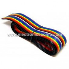Multicolor 10 Core Ribbon Wire - 1 metre