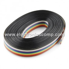 10 Core Multicolor Ribbon Wire Roll - 20m