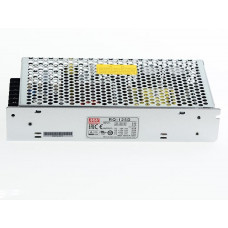RQ-125D Mean Well SMPS (5V 8A), (12V 2.5A), (24V 2A) and (12V 0.5A) - 124W Quad 4 Output Metal Power Supply