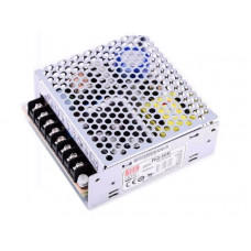 RQ-50B Mean Well SMPS (5V 5A), (12V 1A), (-5V 0.5A) and (-12V 0.5A) - 45.5W Quad 4 Output Metal Power Supply
