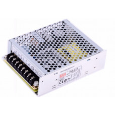RQ-65B Mean Well SMPS (5V 6A), (12V 2A), (-5V 0.5A) and (-12V 0.5A) - 62.5W Quad 4 Output Metal Power Supply
