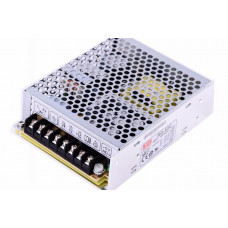 RQ-65C Mean Well SMPS (5V 5A), (15V 2A), (-5V 0.5A) and (-15V 0.5A) - 65W Quad 4 Output Metal Power Supply