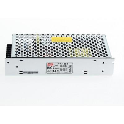 RT-125B Mean Well SMPS (5V 12A), (12V 5A) and (-12V 1A) - 132W Triple Output Metal Power Supply